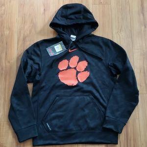 Nike Therma-Fit Clemson Tiger Hooded Sweatshirt
